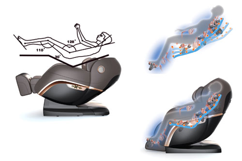 zero-gravity massage không trọng lực