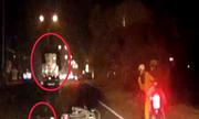 Va quệt xe tải, người đàn ông nằm bất tỉnh giữa đường